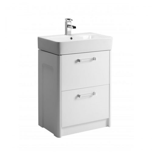 Tavistock Q60 Freestanding Unit & Ceramic Basin