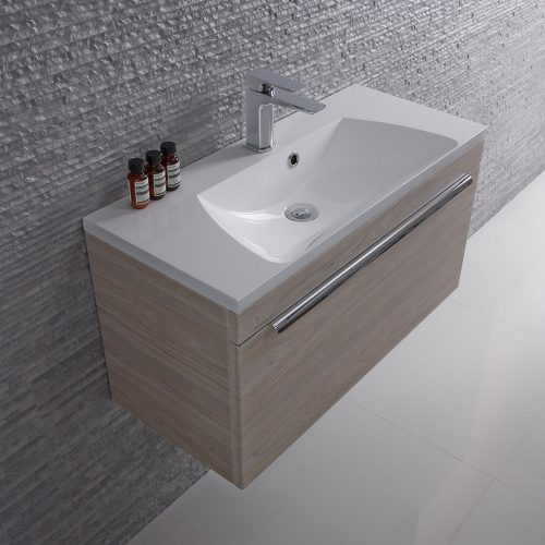 Roper Rhodes Cypher 800mm Wall Mounted Unit and Basin